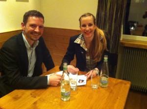 Florian Ulrich und Alisha Däshler