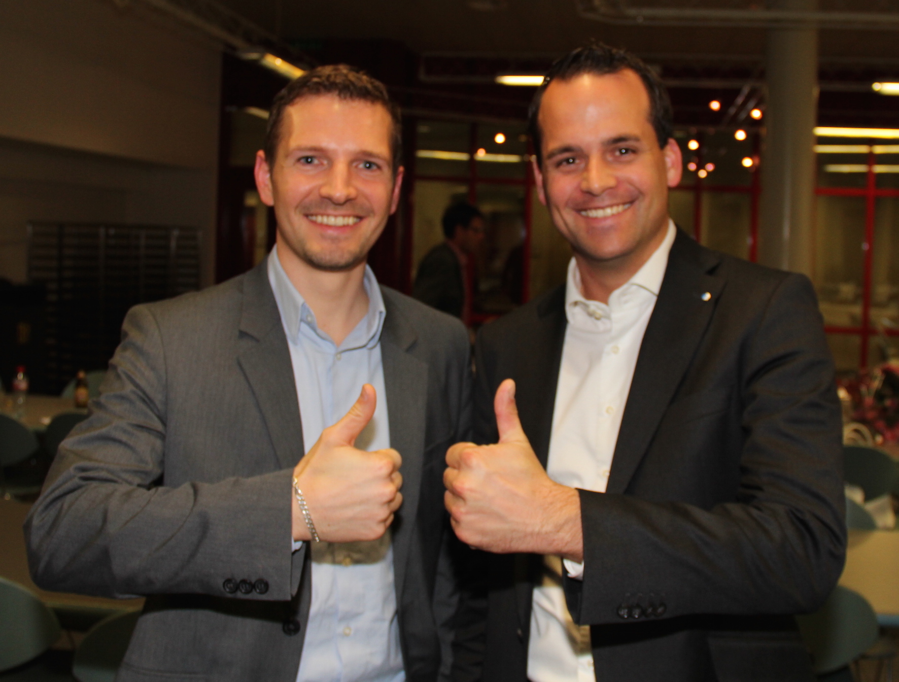 Florian Ulrich und Damian Müller 2014