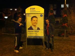 Wahlplakat Florian Ulrich